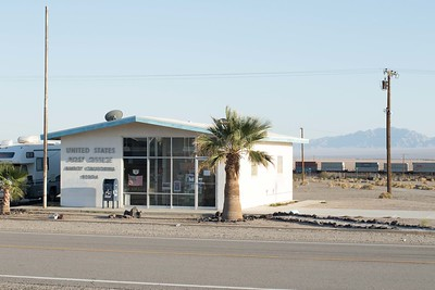 Amboy Post Office on Route 66