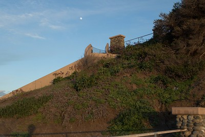Stairway to the moon 3/02/2015 at sunset